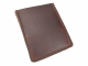 IPAD/Tablet Case in Dark Brown Leather